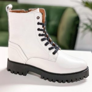 Dwrs Stainley White Boots