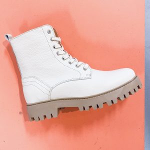 Dwrs Stainley Off White Boots
